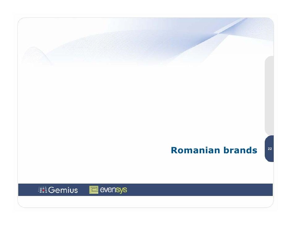Romanian brands   22