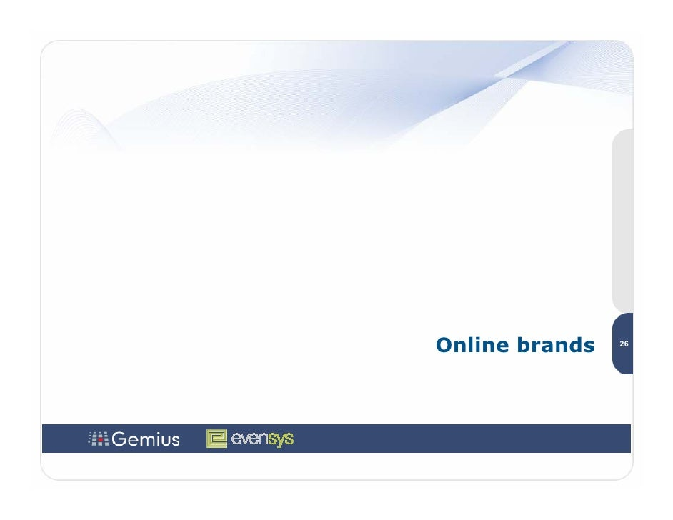 Online brands   26