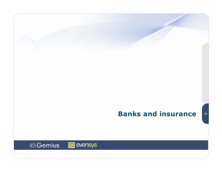Banks and insurance   31
