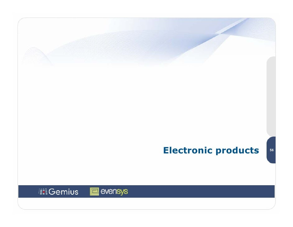 Electronic products   56