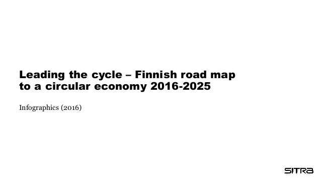 Leading the cycle – Finnish road map to a circular economy 2016-2025 Infographics (2016)