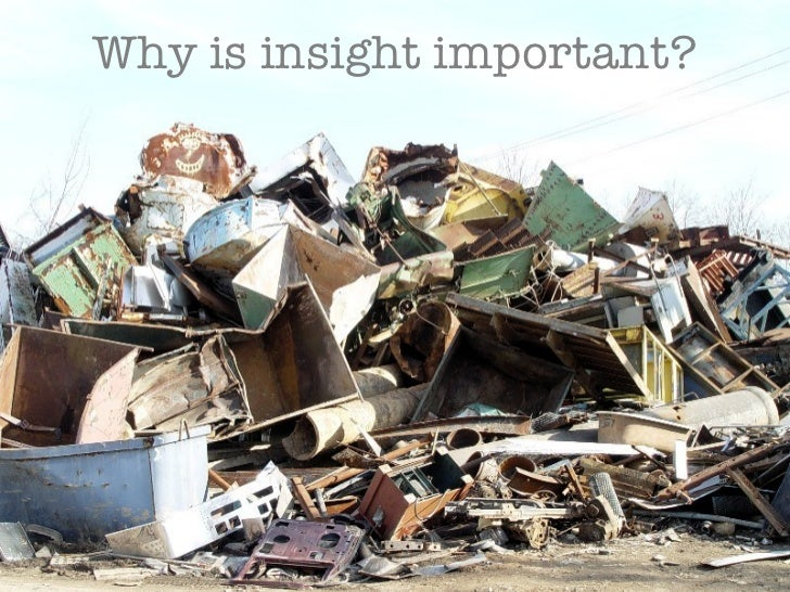 Why is insight important?