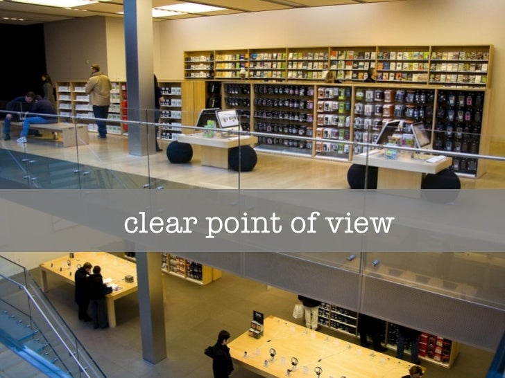 clear point of view