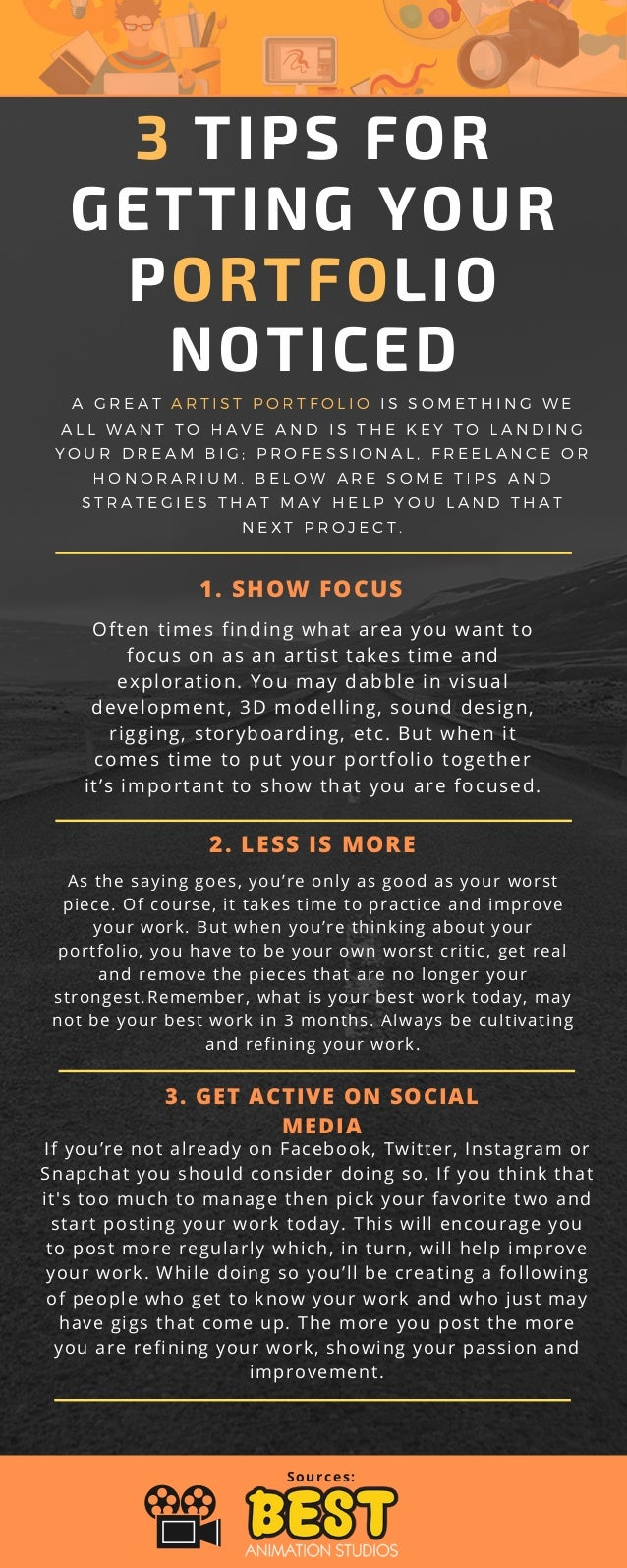 20 Tips for Getting your Portfolio Noticed