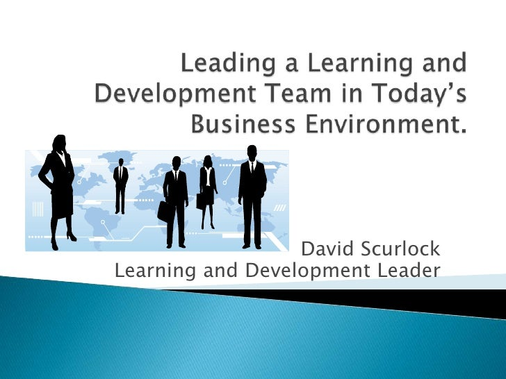 David ScurlockLearning and Development Leader