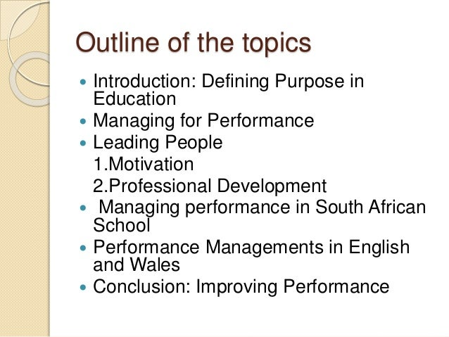 manage people performance People will often blame external sources for their poor performance before admitting their own fault this is a very effective first step in addressing performance it signals to members of your team that you're interested in their perspective and are willing to make the required changes.