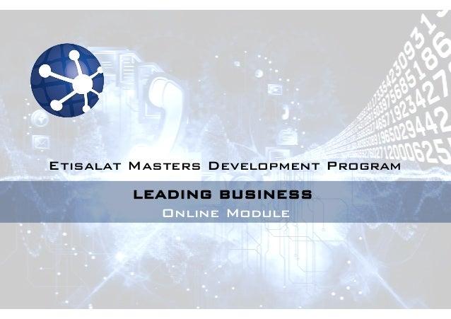 Leading Business Online Module - Balance Sheet