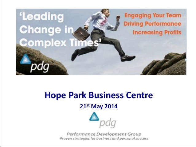 Hope Park Business Centre 21st May 2014