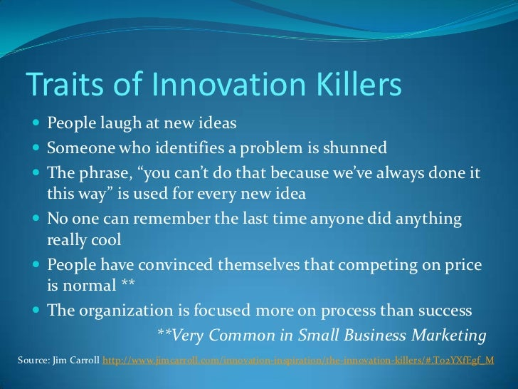 leading innovation change