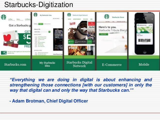 """""""Everything we are doing in digital is about enhancing and strengthening those connections [with our customers] in only th..."""