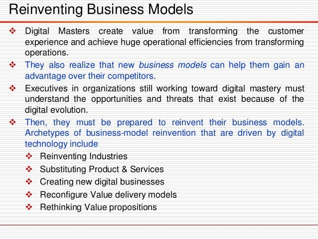 The What: Building Blocks Of Digital Capability