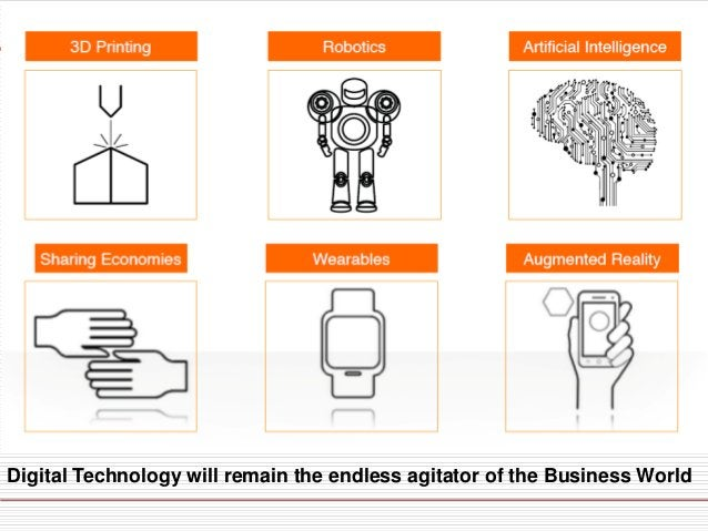  Digitization is not a technology issue—it is a strategy and business transformation issue, which is a sweet spot.  Digi...