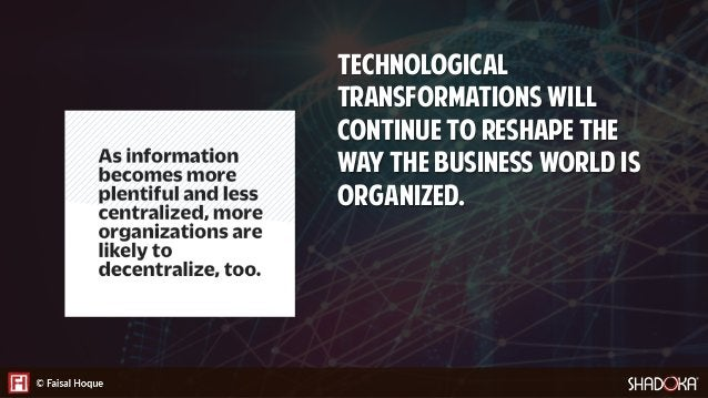 However, a recent leadership study on digital transformation by Dell unveils most organizations are unprepared: • 45% fea...