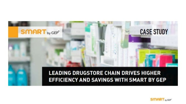 Introduction • A leading drugstore chain wanted to migrate from its decentralized, manual procurement processes and multip...