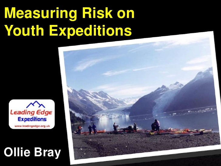 Measuring Risk on<br />Youth Expeditions<br />Ollie Bray<br />