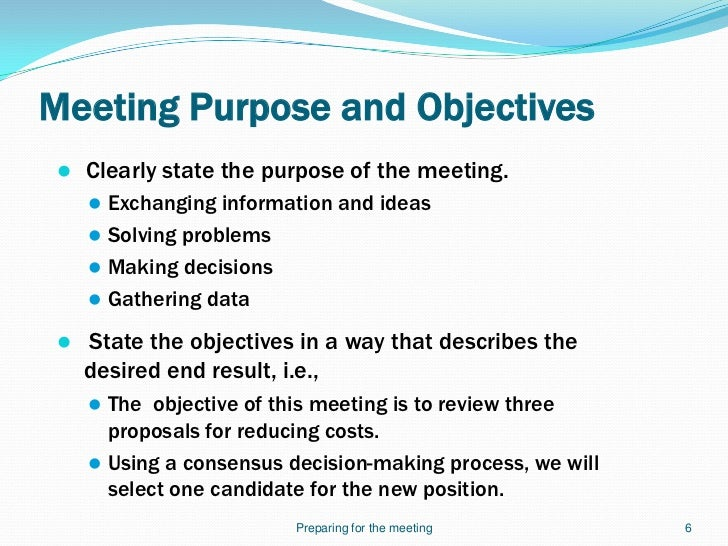 Leading Effective Meetings Slides