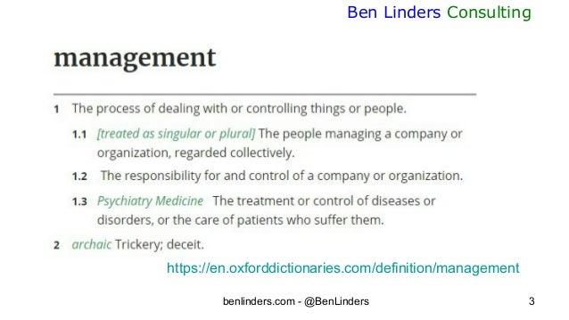 Leading for self organization - ABD 2020 - Ben Linders Slide 3
