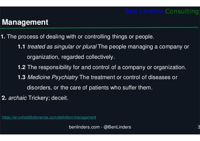 Leading for Self-organization - Stretch 2020 - Ben Linders Slide 3