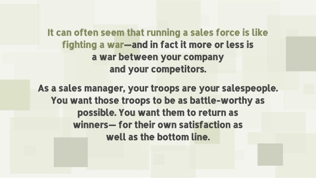 Leading From the War Room Slide 3