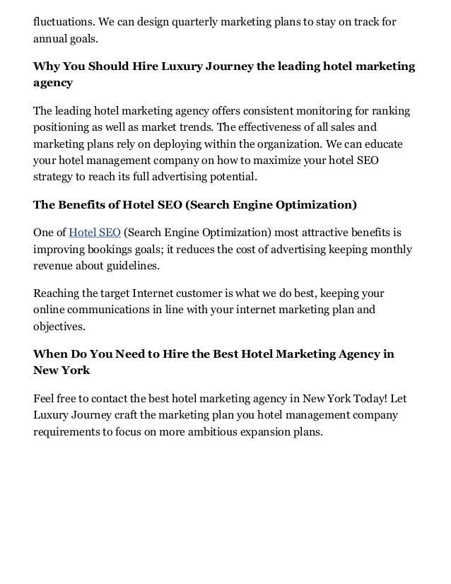 Marketing Agency, Hospitality and Hotel Digital Marketing Slide 3