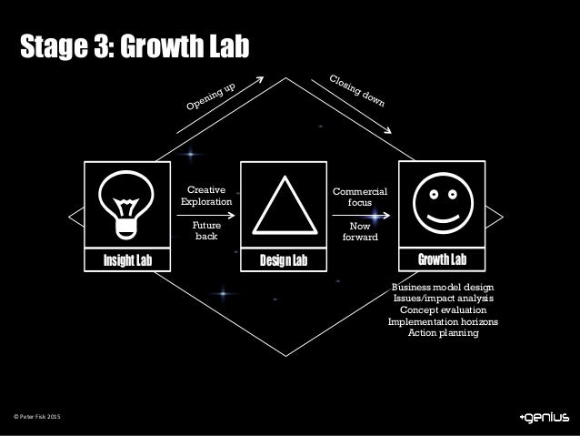 Insight Lab Design Lab Growth Lab ©	Peter	Fisk	2015