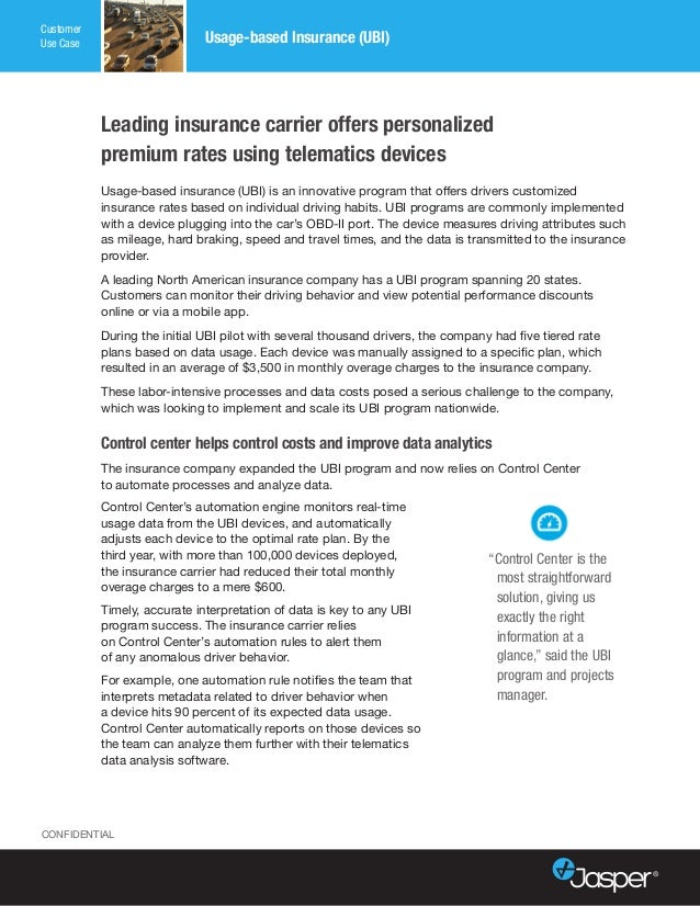 Usage-based insurance (UBI) is an innovative program that offers drivers customized insurance rates based on individual dr...