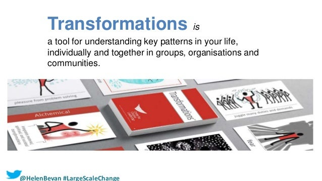 9 | Transformations is Two sets of cards and a User's Guide: 1. Life Logics (84 cards) 2. Catalysts (50 cards) An interact...