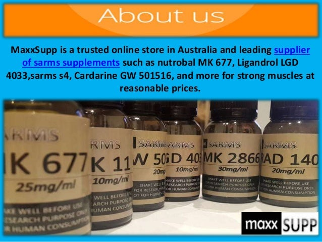 Buy Premium Quality SARMs Supplements online In Australia