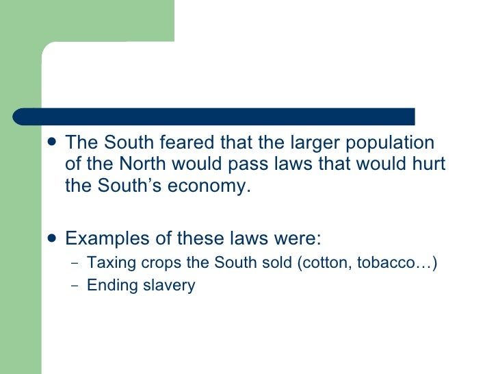 leading up to civil war north Leading up to the civil war  day 7: the civil war begins warm up: what are two causes of the civil war  slavery- north vs south.