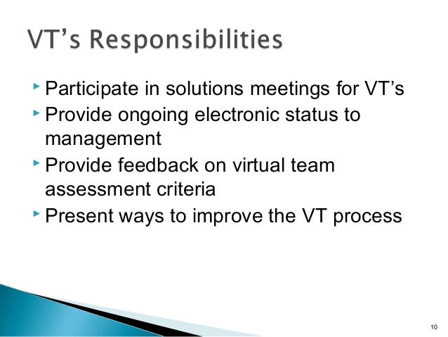 what are the unique challenges to managing a virtual team? essay Virtual teams can be a way to provide top products & services while  there are  many disciplines that require specific skills, training and experience, including:   often, the challenge for startups and other small companies is having  of a  virtual team have the ability to manage many initiatives and virtual.
