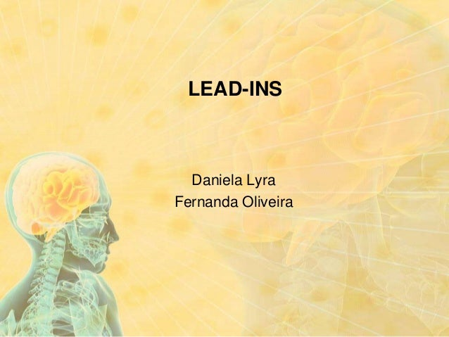 LEAD-INS  Daniela Lyra Fernanda Oliveira