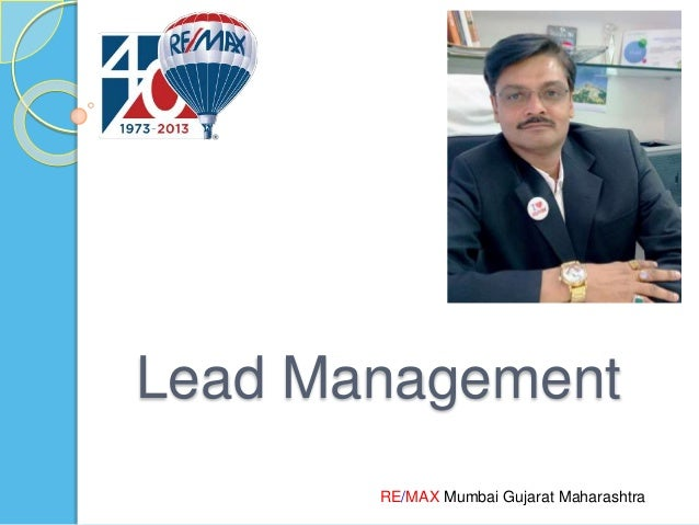RE/MAX Mumbai Gujarat Maharashtra Lead Management