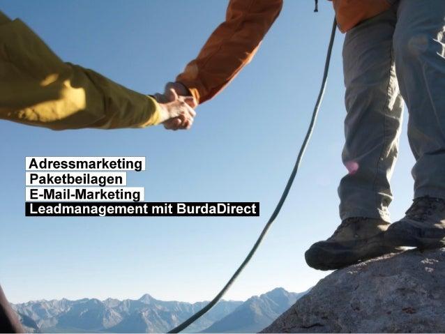 BurdaDirect Seite 1