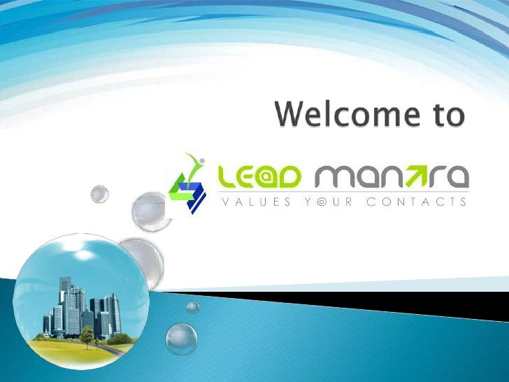 LEAD MANTRA aims to help people get a good high-level understanding of whatit takes to implement a Successful Data Warehou...