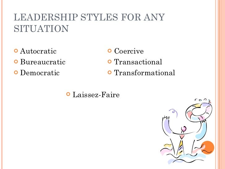 situational leadership disadvantage and advantage Situational leadership in simple terms, a situational leader is an individual who can use different leadership styles based on the situation blanchard and hersey.
