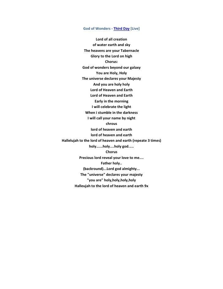 Lyric lyrics to majesty : Lead me lord 3