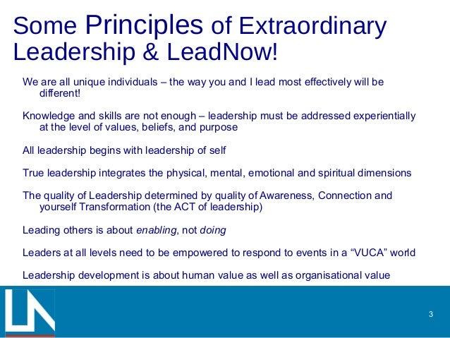 Lead Now! Slide 3