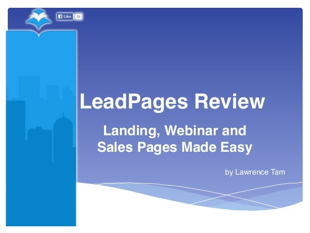 Buy Leadpages On Finance