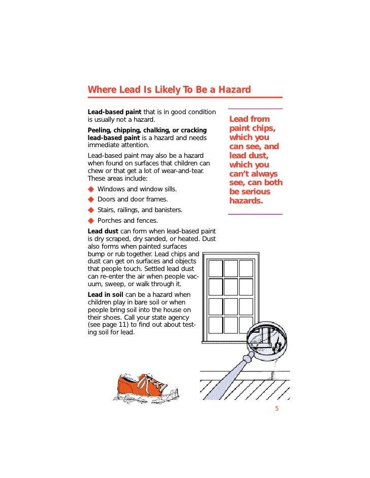 Lead Paint Epa Brochure