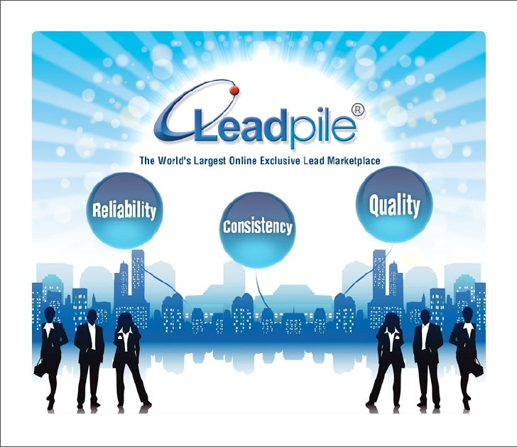 Welcome to Leadpile, The World's Largest Online Exclusive Lead Marketplace.  You may be asking…What is The Leadpile Lead M...