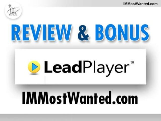 How LeadPlayer Can Help You In Your OnlineBusinessThere can be no doubt about the amazing reach of videos. Avideo can conv...