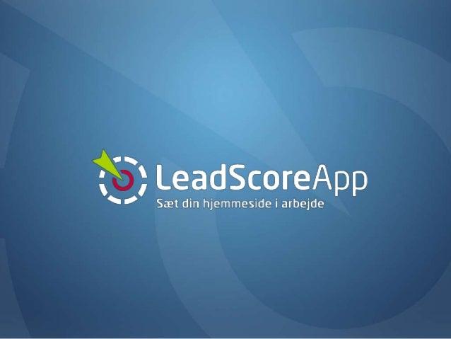 Alle klik på hjemmesiden er et købssignal En online platform til leadgenerering, CRM og marketing automatisering