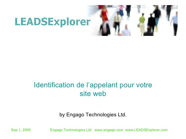 by Engago Technologies Ltd. Identification de l'appelant pour votre site web