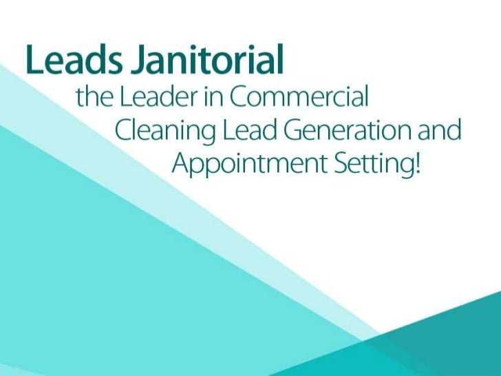 commercial cleaning leads