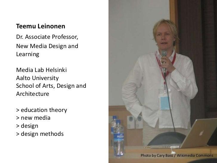 LEAD - Learning Design – Design For Learning -project presentation Slide 2