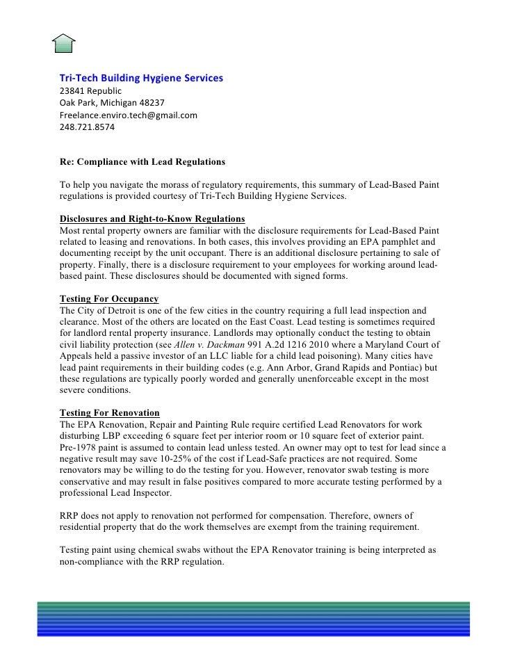 asbestos·lead paint·moldTri-Tech Building Hygiene Services23841 RepublicOak Park, Michigan 48237Freelance.enviro.tech@gmai...