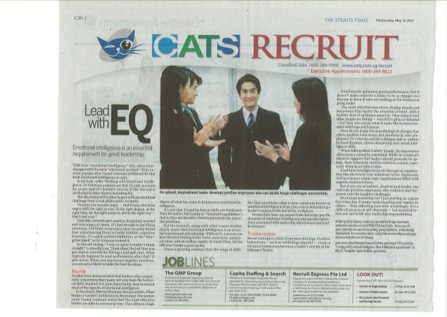 Lead with EQ - ST Recruit 16 May 2012