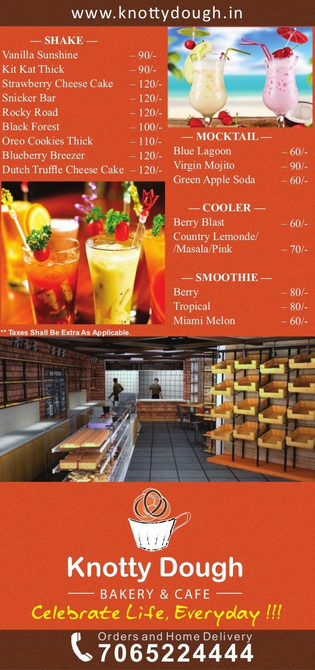 Knotty Dough Bakery Amp Cafe Kalkaji New Delhi