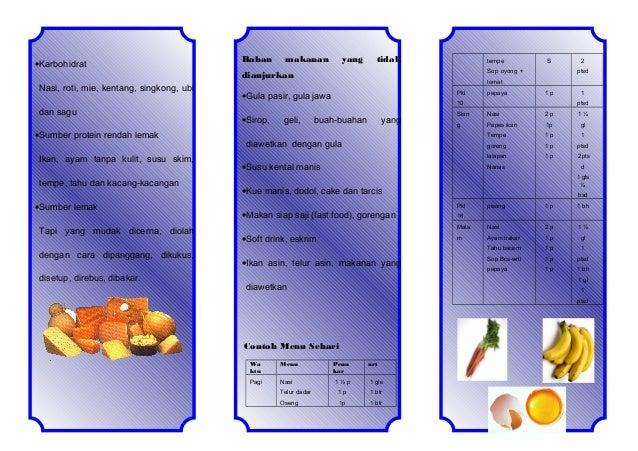 Diet Diabetes Melitus Tipe 1 Yang Efektif Untuk Penderita
