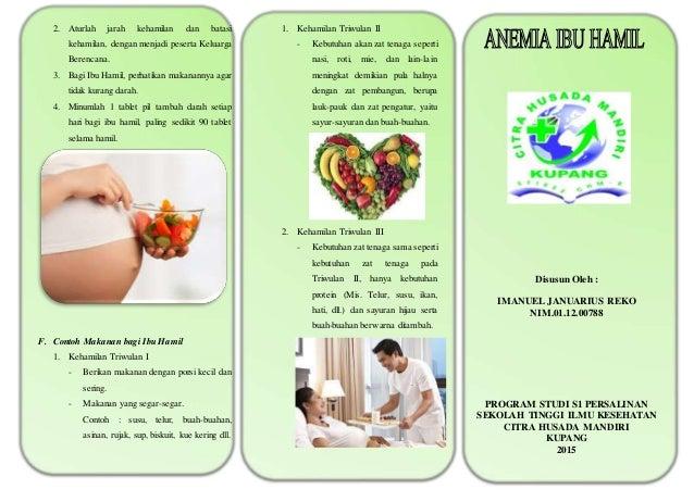 Leaflet Anemia Ibu Hamil